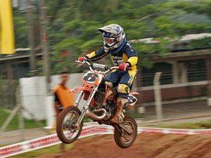 Foto: Carlinhos Evangelista venceu a 50cc