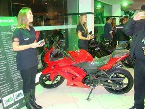 Primeira Kawasaki nomeada em Santa Catarina é inaugurada em Balneário Camboriu
