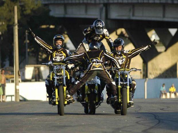 Foto: Alto Giro, equipe de wheeling patrocinada pela Pro Tork