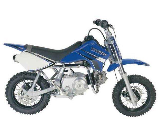 Foto: TR50F ' a £nica mini-moto nacional de 50cc e 4 tempos