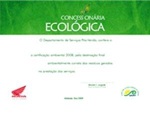 Programa Green Dealer Honda incentiva boas práticas ambientais