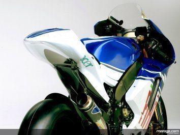 Foto: A Yamaha de fábrica colabora com o motogp.com para a primeira apresentação online da YZR-M1.