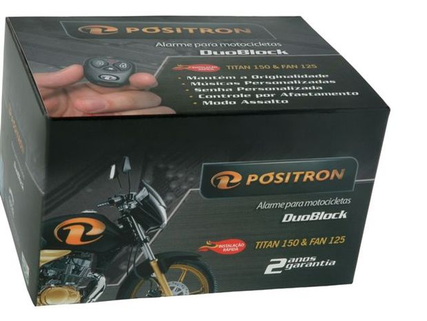 PST lança novo alarme para motos Titan 150 e Fan 125