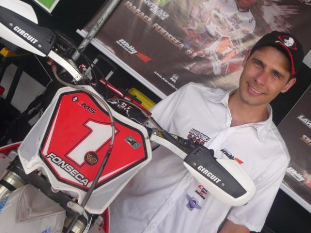 Rafael Fonseca, o campeão brasilero da modalidade é o pole position