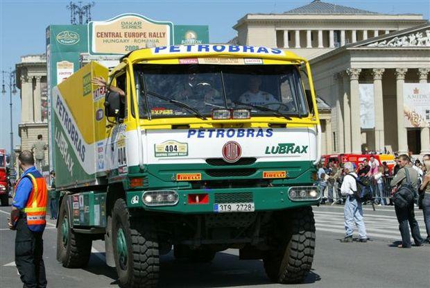 Rally da Europa Central traz lembranças do Dakar