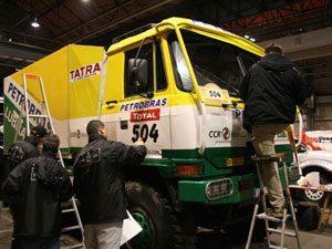Rally Dakar 2009 já começou para a Equipe Petrobras Lubrax