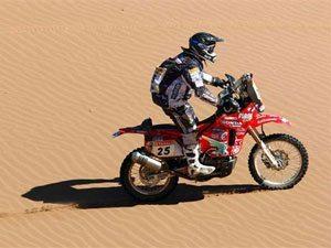 Foto: José Hélio encara a décima etapa do Rally Dakar no entorno de Copiapó (CHL)