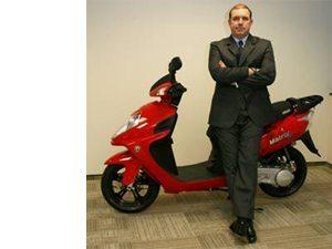 Foto: Ricardo Pellegrini é o CEO da IROS Motos