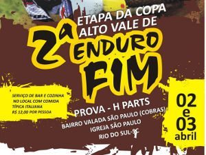 Rio do Sul - Enduro FIM