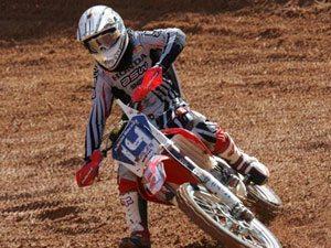 Foto: Thales Vilardi, piloto da MXJr do Team Honda