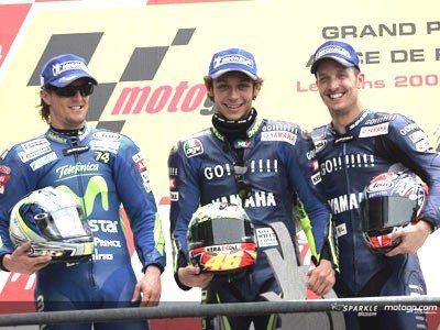 Rossi é o vencedor