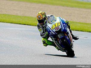 Rossi garante última pole de MotoGP em Donington