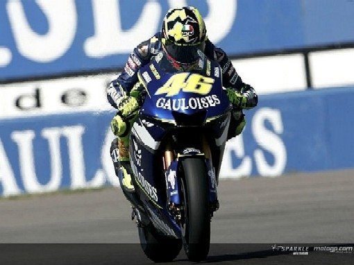 Rossi larga da pole para o 75º Gauloises TT Assen