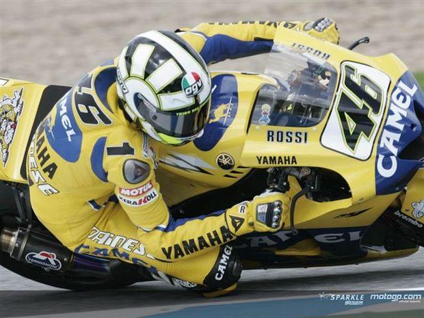 Rossi lidera tabela de tempos após treinos de sexta-feira MotoGP