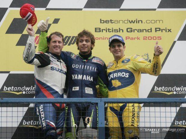 Rossi soma mais uma vitória em Donington Park