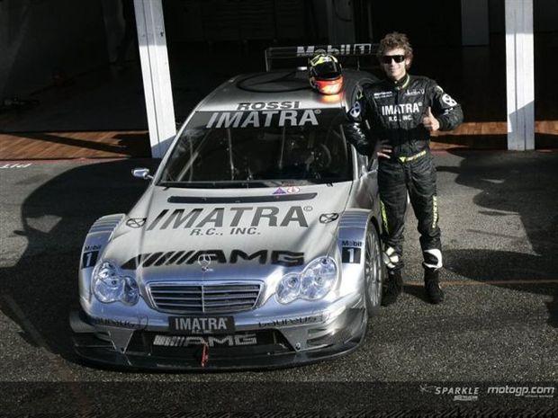 Rossi testa DTM em Hockenheim