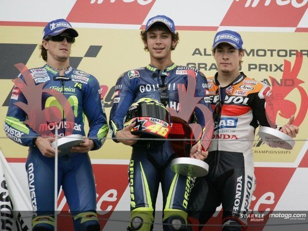 Rossi vence corrida na Alemanha
