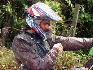 Foto: Piloto da equipe Honda abre a temporada do Estadual de Enduro de Regularidade na cidade de Cachoeiro de Itapemirim