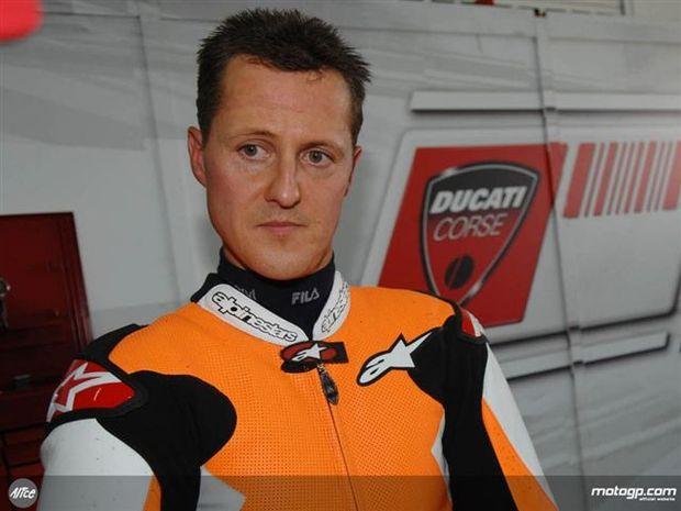 Schumacher com teste surpresa na Desmosedici GP8