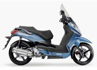 """Dafra Citycom 300 - Monocilíndrico, injeção, rodas 16""""(D e T)"""