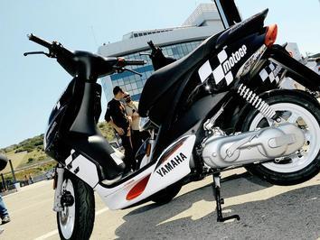 Scooter Yamaha JogRR continuam a desempenha papel importante no MotoGP