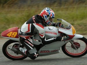 Foto: Rafael Portaluppi fez a pole position na 125cc