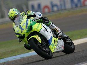 Foto: Gilson Scudeler, piloto da Superbike do Team Scud, que conta com o patrocínio da Honda