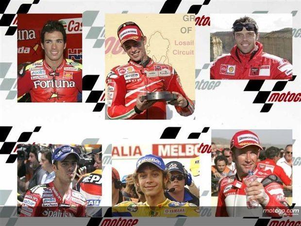 Seis corridas, seis vencedores diferentes no MotoGP