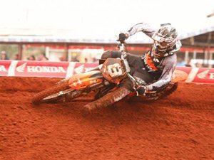 Foto: Selhorst foi o mais rápido na MX2