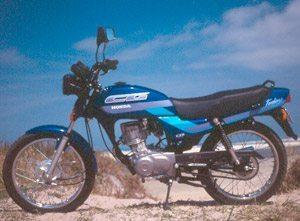 Foto: CG 125 Today azul: novinha