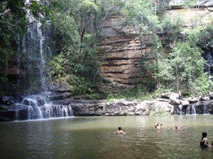 Foto: Cachoeira de Salto Liso, em Pedro II,  no Piauí