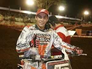 Foto: Wellington Garcia foi o vencedor da 10¦ etapa da MX2