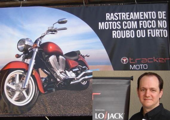 Foto: Marcelo Orsi apresenta o Tracker Moto
