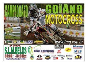 Sõ Luis de Montes Belos (GO) de volta ao Goiano de Motocross