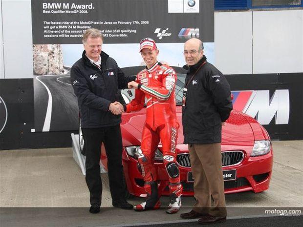 Stoner arrecada BMW em Jerez