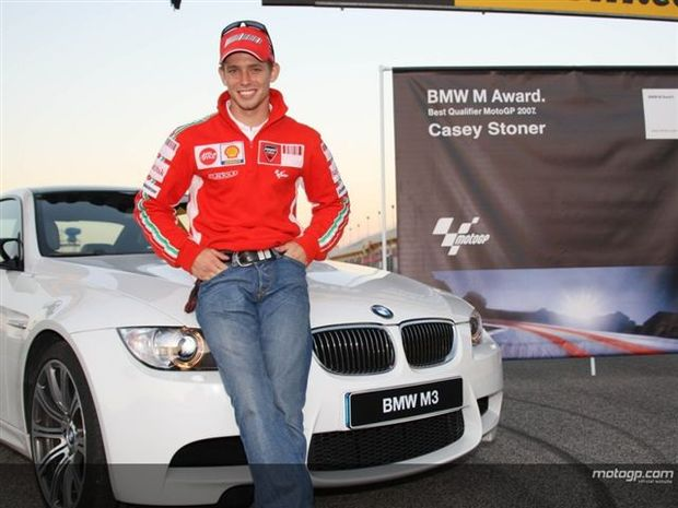 Stoner leva desportivo BMW M