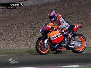 Stoner voa para a pole da primeira corrida do ano Qatar 2011