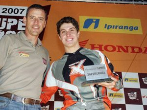 Foto: Marcos Moraes, presidente da Dunas Race, e Swian Zanoni