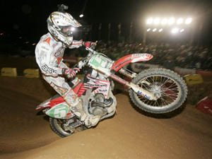 Foto: Wellington Garcia ' piloto da categoria SX1 no Campeonato Brasileiro de Supercross