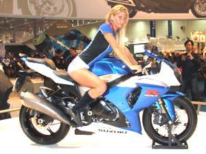 Suzuki mostra nova GSX-R 1000 - Intermot