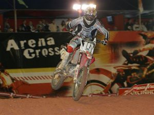 Foto: Jean Ramos, piloto da MX2 do Team Honda no Arena Cross