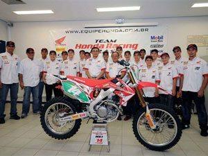 Foto: Team Honda é apresentado para a temporada off-road 2009