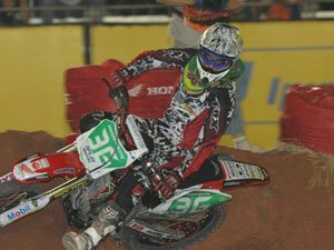 Foto: Balbi, piloto da SX1 do Team Honda no Brasileiro de Supercross