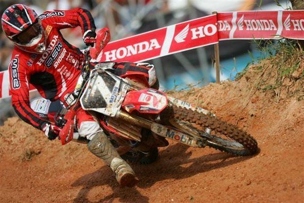 Foto: Ratinho, piloto da MX2 do Team Honda