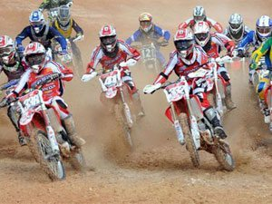 Foto: Pilotos do Team Honda na categoria MXJr