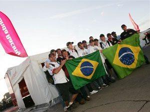 Foto: Team Honda comemora resultado histórico para o Brasil no Motocross das Nações 2008