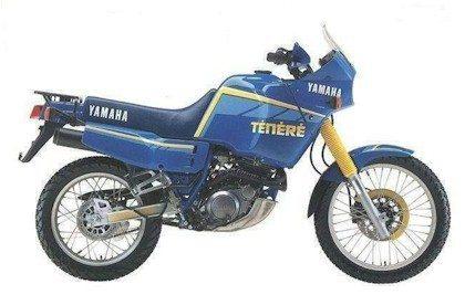 XT 600 Ténéré ano 1984 (divulgação Yamaha)