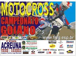Terceira do Goiano de Motocross será em Acreúna