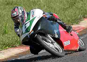 Foto: Felipe Garcia, (DF), soma mais pontos na 250cc