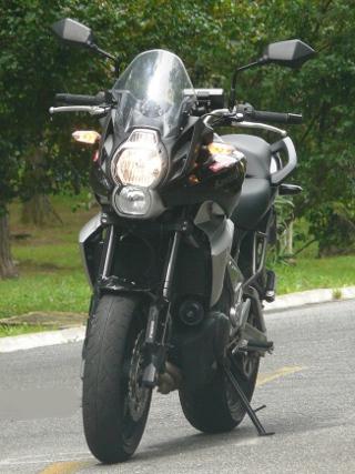 Teste moto Kawasaki Versys